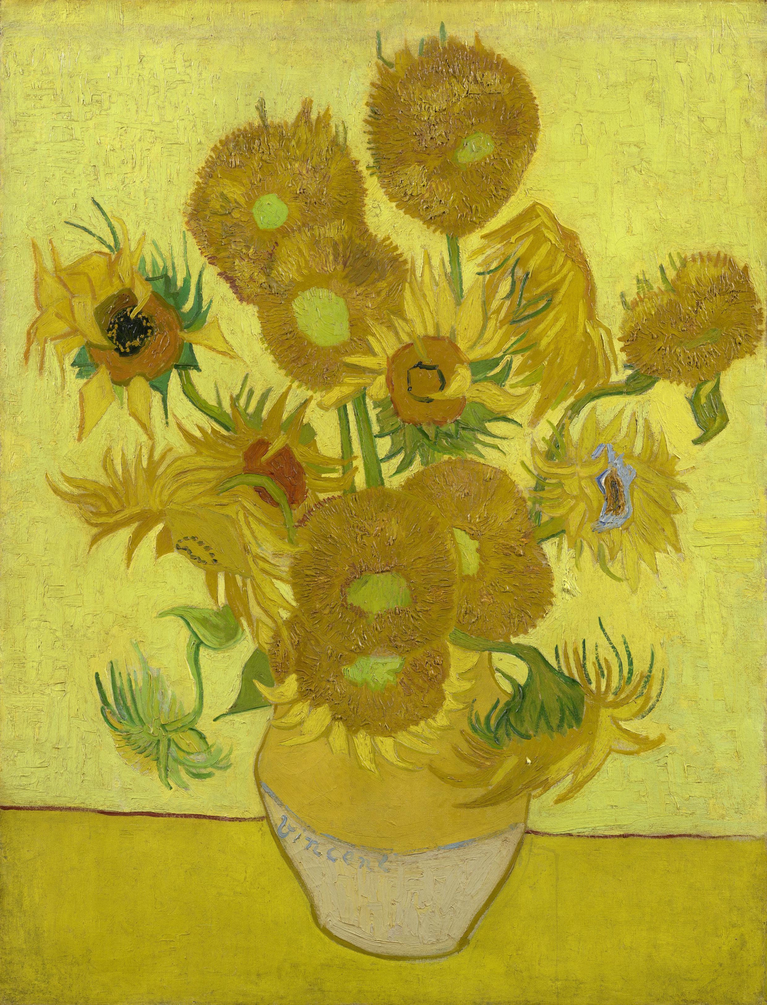 Desy News Warum Van Goghs Sonnenblumen Welken Deutsches