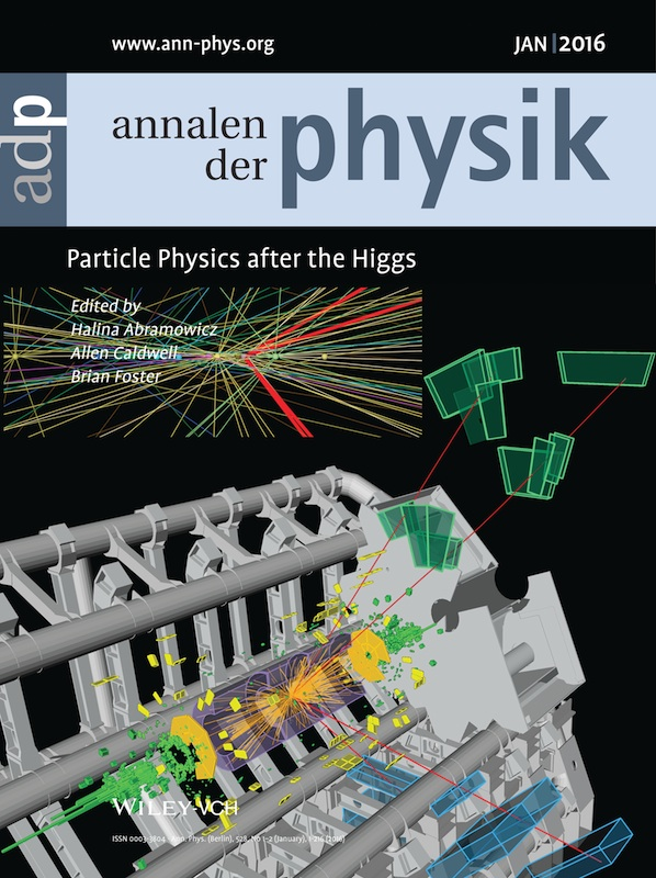 Research papers on particle physics
