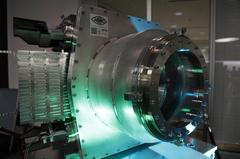 The Adaptive Gain Integrating Pixel Detector AGIPD, tailor-made for the European XFEL, can record the world's fastest X-ray serial images. Credit: DESY