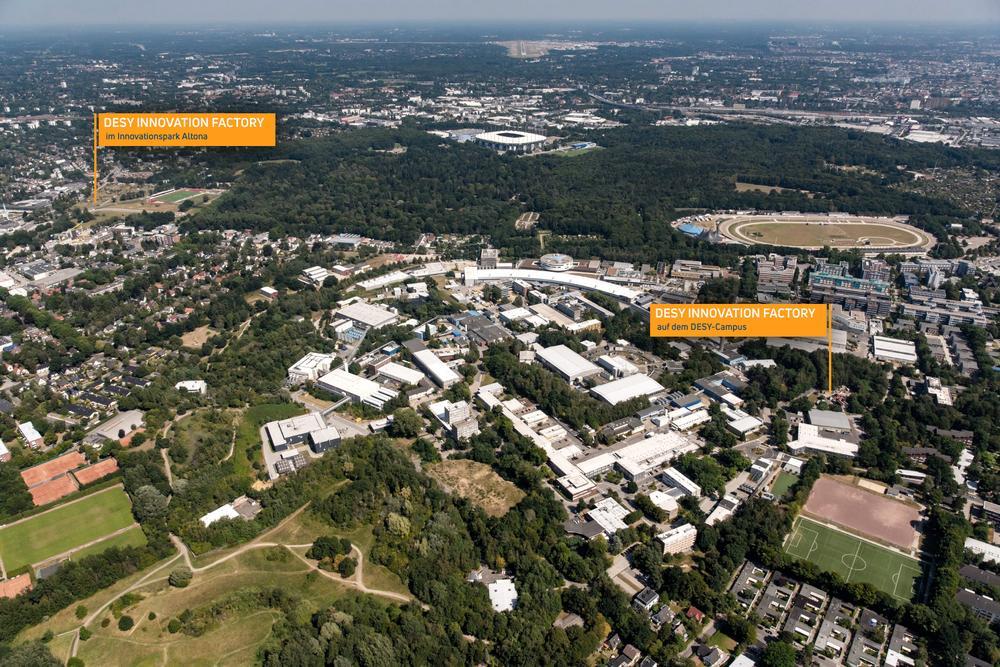 DESY Innovation Factory: Start für integriertes Technologie- und Gründerzentrum