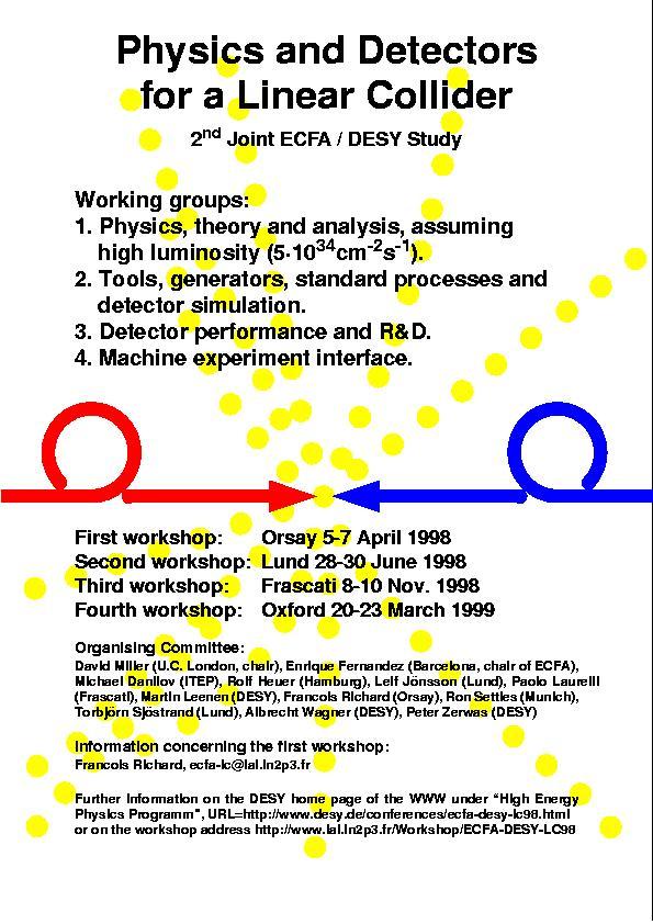 Poster 2nd Joint ECFA/DESY Study